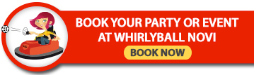 Book your party or event at Whirlyball Novi