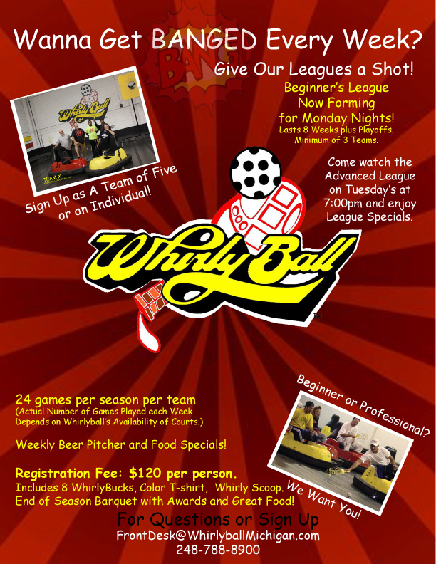 Whirlyball Michigan Leagues & Tournaments